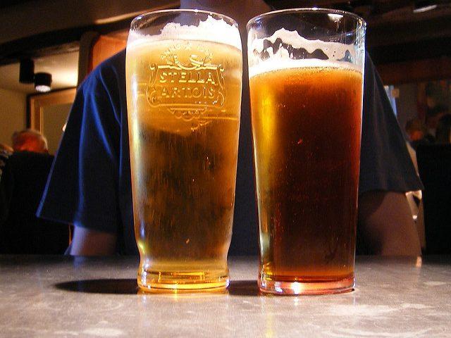 Lumière sur ma bière